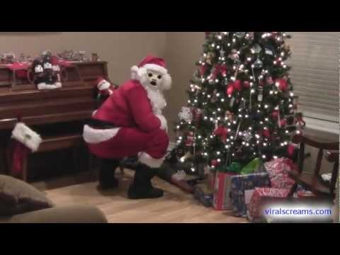 Santa Claus Attacks - Larry Is That YOU? - Funny & Creepy version
