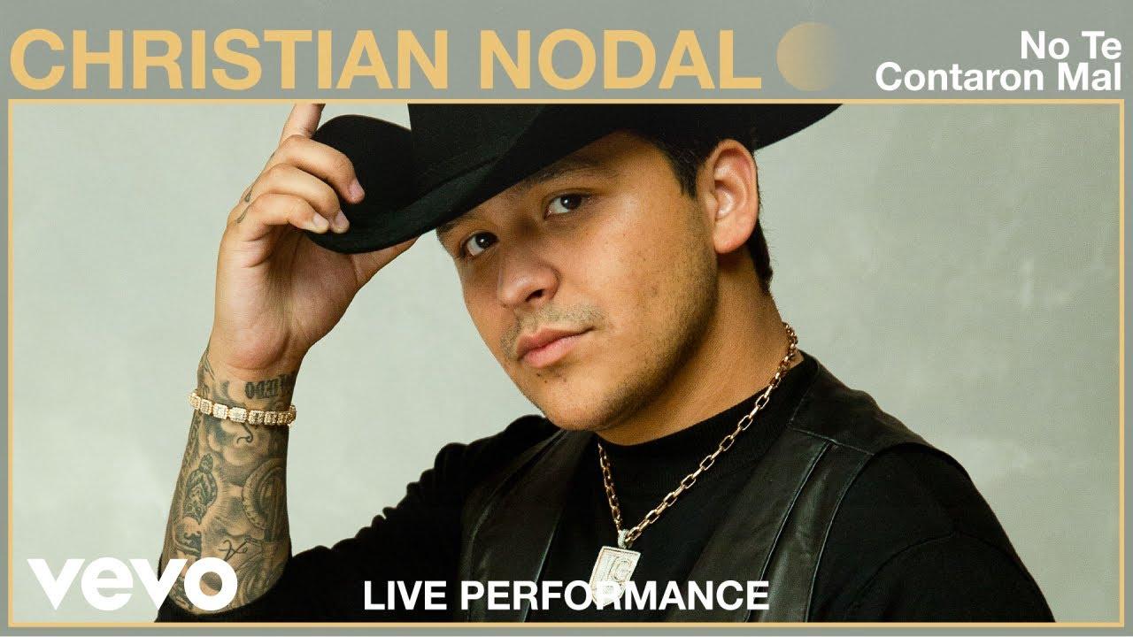 Christian Nodal - No Te Contaron Mal (Live Performance) | Vevo