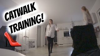 CATWALK TRAINING MIT PADDY & LAMIYA! | AnKat
