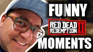 RED DEAD REDEMPTION 2 FUNNY MOMENTS DO RICFAZERES