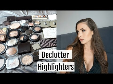Highlighter Declutter & Collection