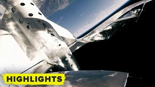 Watch Virgin Galactic go to space with Richard Branson (FULL FLIGHT)