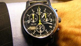 Обзор ремешка для часов Tissot PRC 200