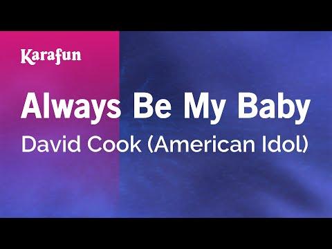 Karaoke Always Be My Baby - David Cook *