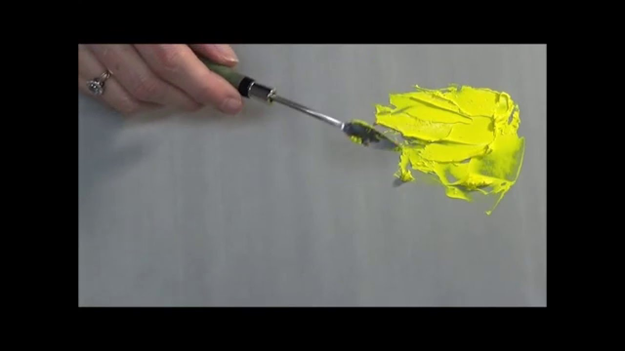 how to thicken acrylic paint for more texture