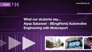 BEng(Hons) Automotive Engineering with Motorsport - What our students say