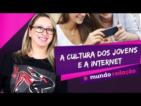 Видео A cultura dos jovens sobre a influencia da internet