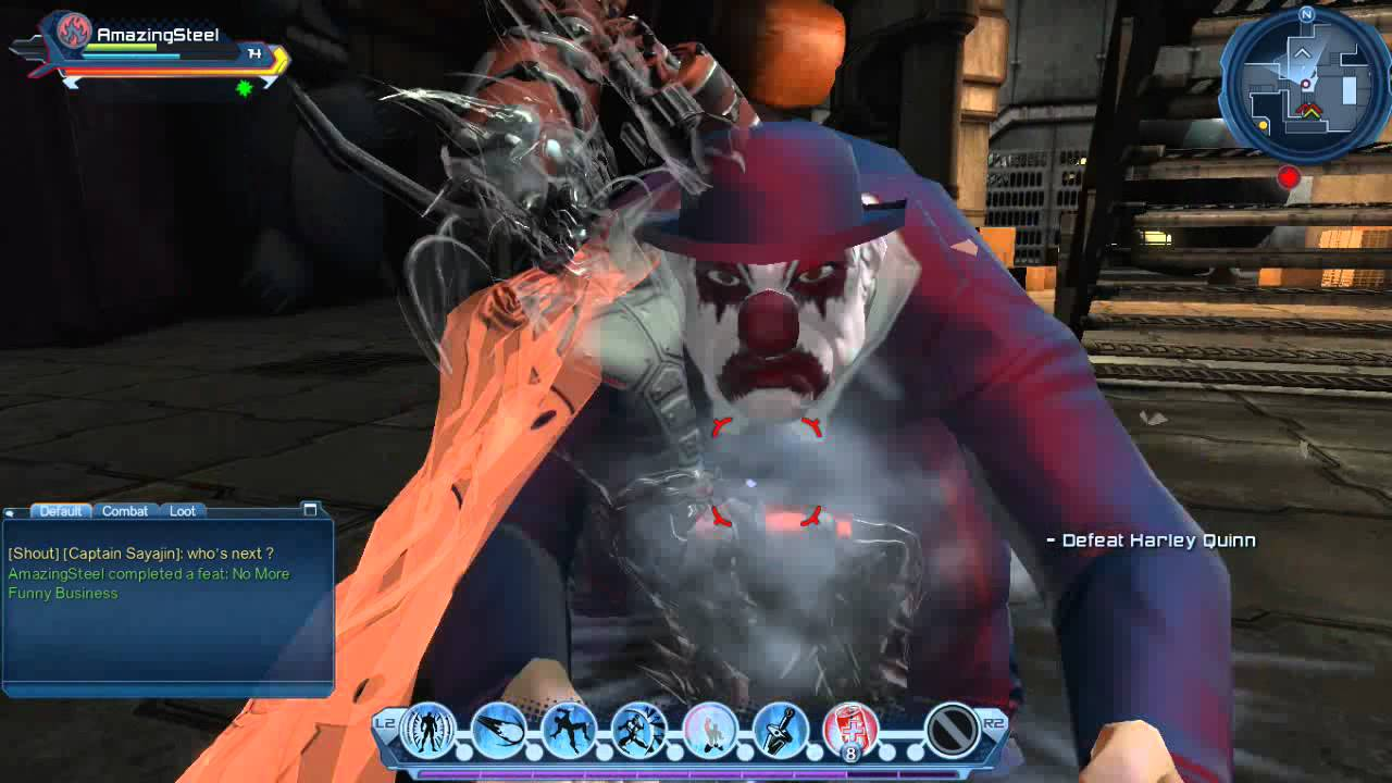 DC Universe Online #12: Beating Harley Quinn - YouTube