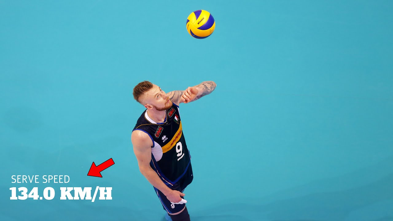 Moment When Ivan Zaytsev Shocked the World | Fastest Serve in Volleyball History (HD)