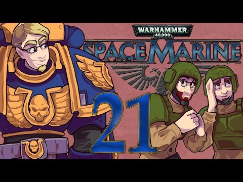 ETA Plays! Space Marine Ep. 021 - Lascannon is Life