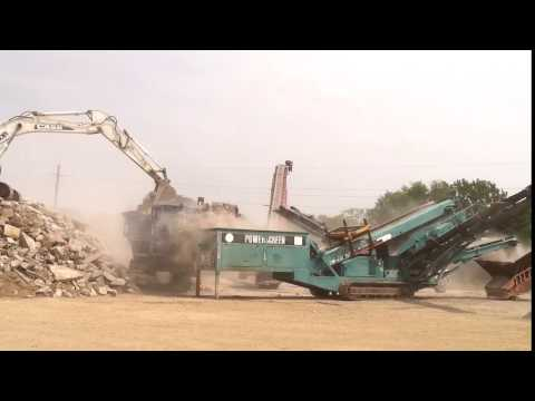 Mass Crushing & Excavating - Crushing Job