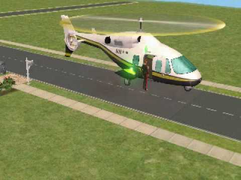 helicoptero para the sims 2
