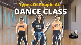 Captain Nick   Types Of People In Dance Class