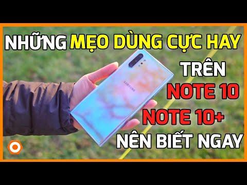 """Nếu dùng Galaxy Note10 Plus thì bạn phải biết TIPS """"ĐỈNH KAO"""" này!!!"""