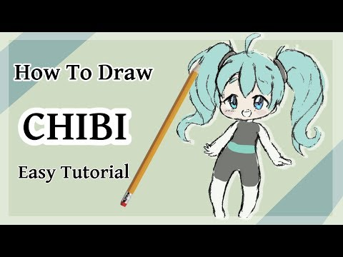 How to Draw Kawaii Chibi Body! Easy for Beginners!