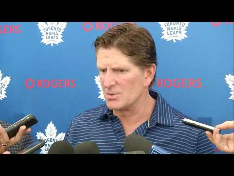 Maple Leafs Training Camp: Mike Babcock - September 15, 2017