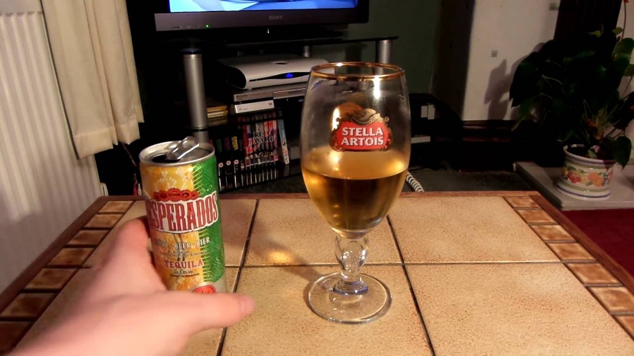 Desperados Tequila Flavoured Beer 5 9 Review Youtube