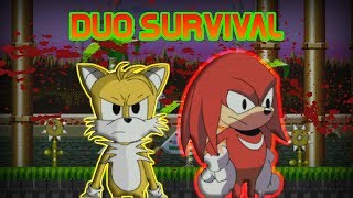 sonicexe the spirits of hell tails and knuckles duo survival