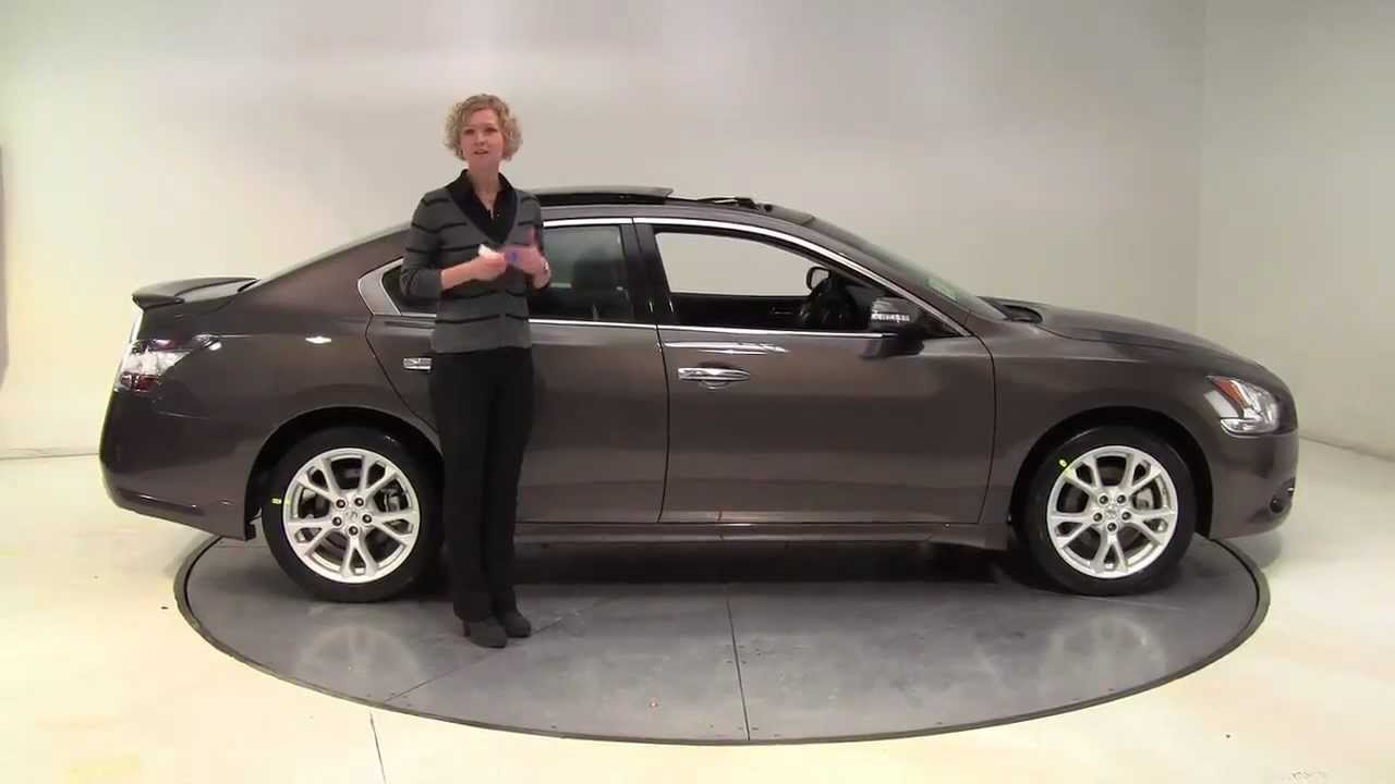 The New 2013 Nissan Maxima SV W  Premium Pack Feldmann Nissan Bloomington  MN New Walk Around   YouTube