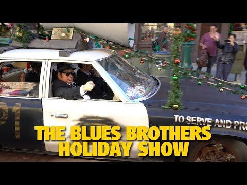The Blues Brothers Holiday Show | Universal Studios Florida