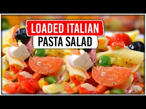 Loaded Italian Pasta Salad