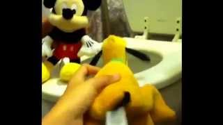 The Mickey Mouse Plushy Show Potty Training