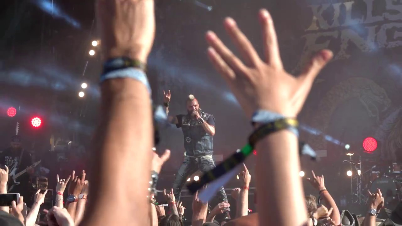 Killswitch Engage - Holy Diver @ Sweden Rock Festival 2018 HD