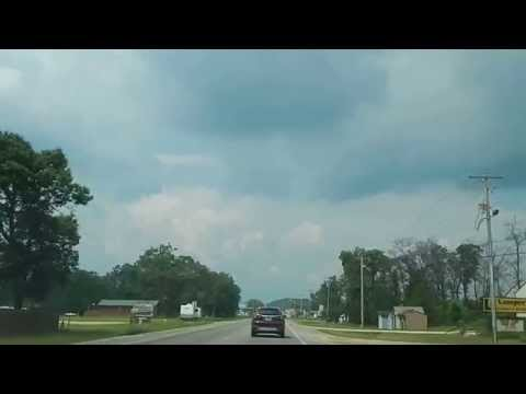 Drive Highway 13 North in Adams Wisconsin