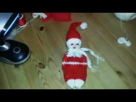 Weihnachtsmann Als Strickmännchen Geht Ganz Einfach Und Schnell