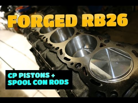 Forged RB26 │Installing Pistons & Rods◄►Part 4 (final)