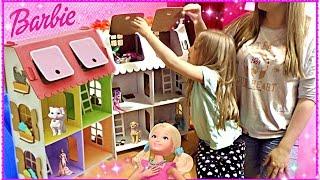 Мой домик для Барби Трехэтажный с куклами Своими руками / House for Barbie. three story with dolls(Мой домик для Барби Трехэтажный с куклами Своими руками / House for Barbie. three story with dolls Милана с Мамой участвовали..., 2016-06-04T11:04:46.000Z)
