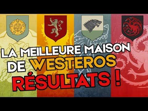 Game Of Thrones - La Meilleure Maison De Westeros Est... [RÉSULTATS SONDAGE #6.5]