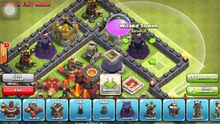 Clash Of Clans - Epic Town Hall 10 Speed Build - Trophy Pushing/hybrid Base
