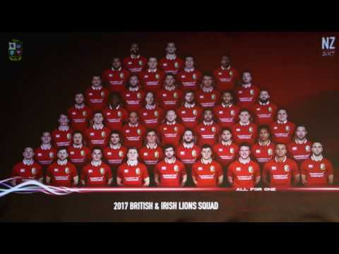 British and Irish Lions Squad Discusson with an All Blacks Supporter - HYPRSPORT