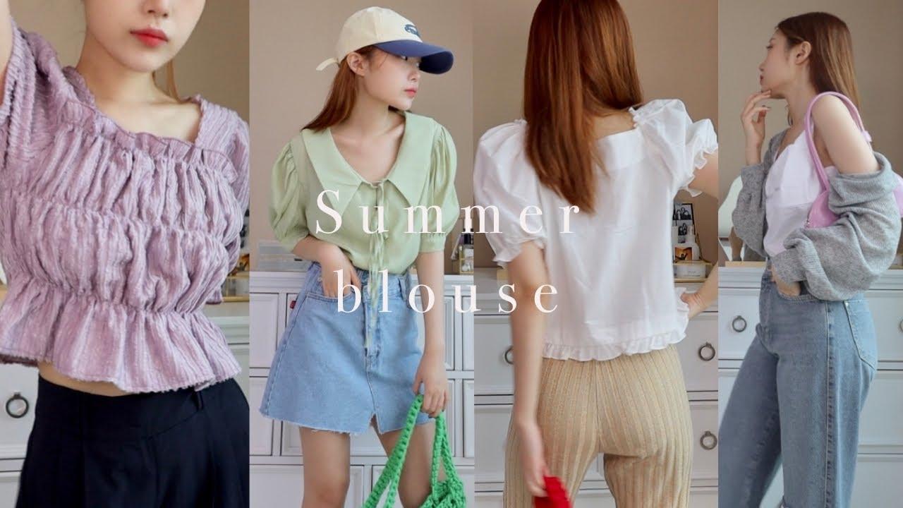 Summer Blouse 예쁜 여름 블라방구들 (only 인터넷쇼핑몰)