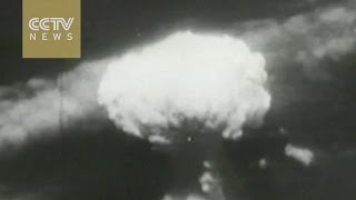 Footage: Atomic bomb drop in Hiroshima