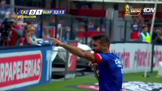 Cruz Azul vs Lobos BUAP 2-1, J-16, Apertura 2018, Liga MX, goles,
