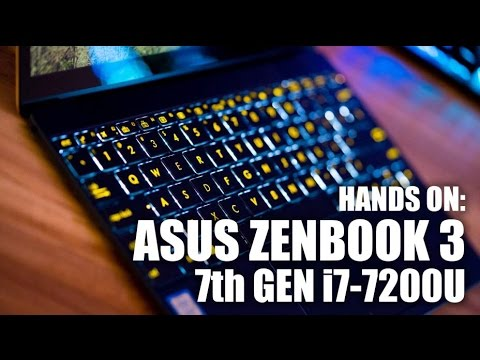 Hands On: ASUS ZenBook 3 UX390UA 7th Gen Laptop