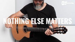 Metallica - Nothing Else Matters - Classical Guitar Cover by Kfir Ochaion - Furch Guitars видео