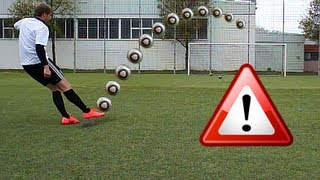 Cristiano Ronaldo Longshot Top Spin Tutorial | How to shoot a Dip / Dipping Ball