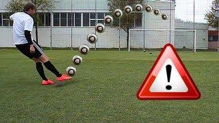 Cristiano Ronaldo Longshot Top Spin Tutorial | How To Shoot A Dip / Dipping Ball | English/englisch