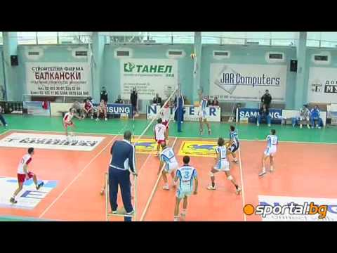 Arda beat Montana with 3:0 and now is № 1 in volleyball Superleague
