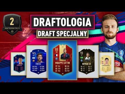 PIERWSZY DRAFT SPECJALNY | DRAFTOLOGIA #2 FIFA 19