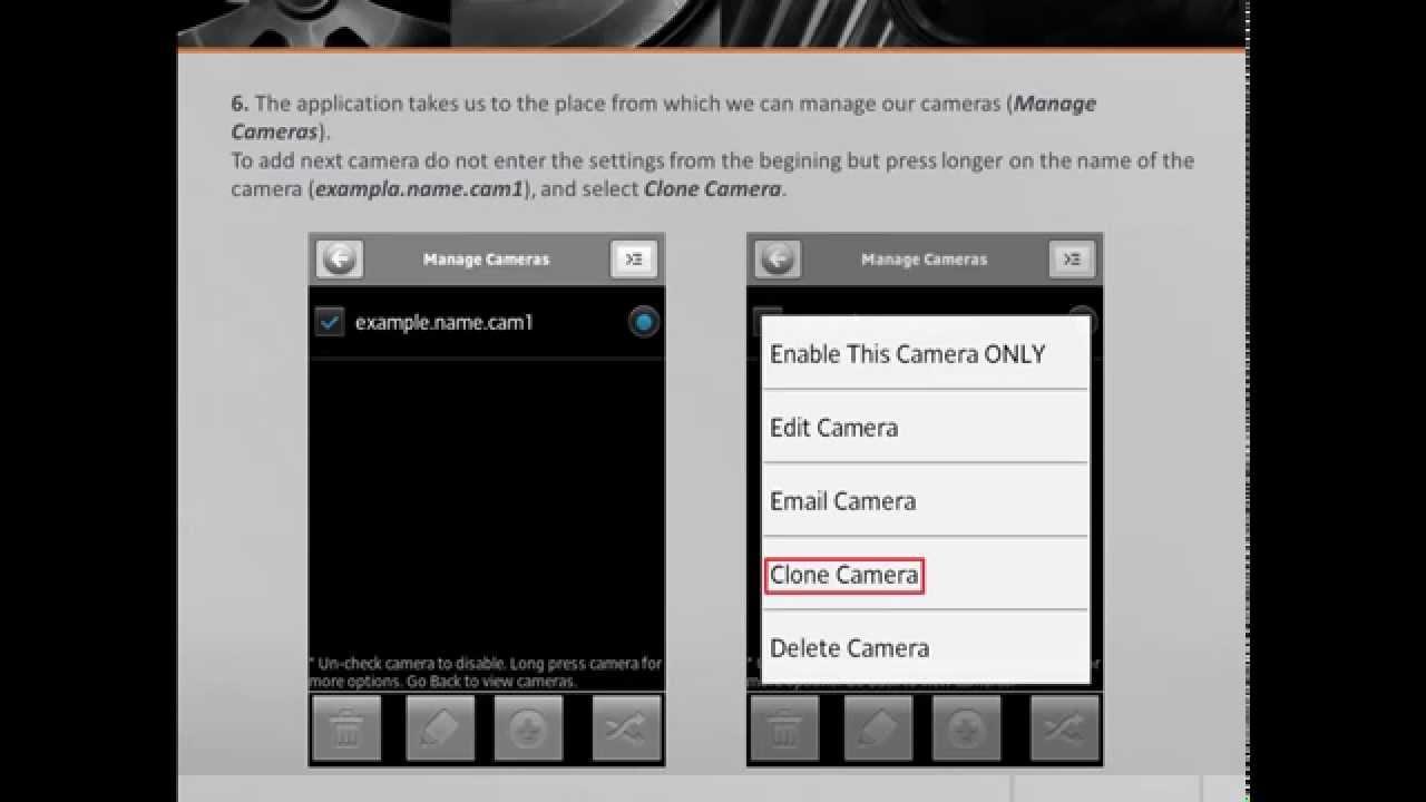 IP Cam Viewer Lite/Basic manual