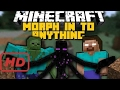 Minecraft: MORPH IN TO YOUR FAVORITE MOBS! (Herobrine, Mutant Creatures & More) Mod Showcase