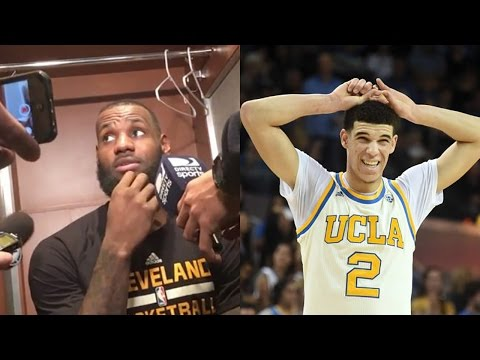 "Thumbnail: LeBron James WARNS Lonzo Ball's Dad LaVar: ""DON'T Talk About My Sons"""