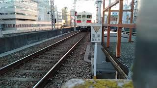 山陽電鉄3030系3058F阪急神戸三宮駅発車