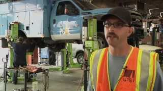 PG&E's Davis Truck Repair Shop Lights the Way for Safety