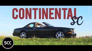 BENTLEY CONTINENTAL SC | 1999 | Test drive in top gear | SCC TV