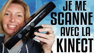 Je me scanne et je m'imprime en 3D avec la Kinect ! 💡